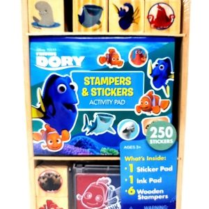 Disney Dory Stampers and Stickers Activity Pad Set